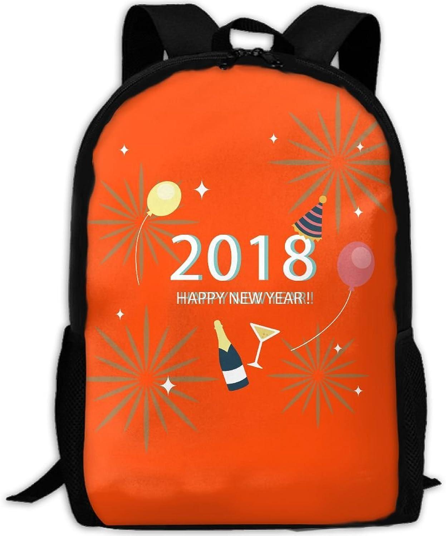 Backpack Laptop Travel Hiking School Bags New Year 2018 Daypack Shoulder Bag