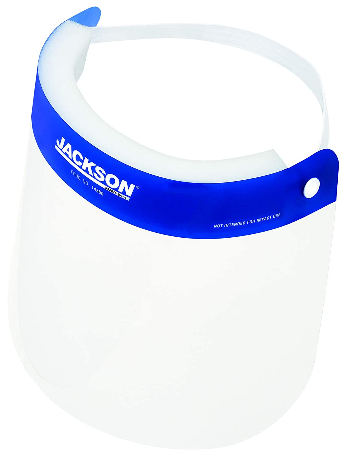 Jackson Safety Disposable Spring new work New product!! one after another Face Shield Mask 25 14360 - of Pack