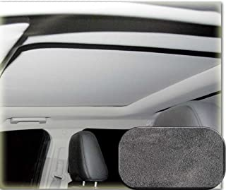 Heads Up OptionZ Suede Dark Grey Sunroof Fabric Recovery Kit