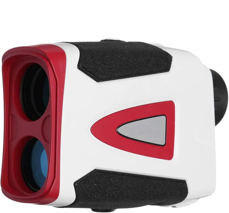 Telémetro de Golf 1000/1500 Metros Rango Finder Golf RangeFinder Distancia de la Velocidad de la Velocidad de la Caza del telescopio para la Caza con Arco (Color : White, Size : One Size)