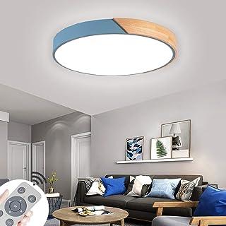 60W LED plafonnier mince rond Lampe de plafond moderne dimmable applicable à la chambre la cuisine le salon le balcon et l...