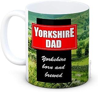 Yorkshire Papa - Grappig cadeau voor papa - keramische koffiemok