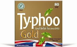 Typhoo Tea Gold Blend (Case of 12, Total 960 Teabags)