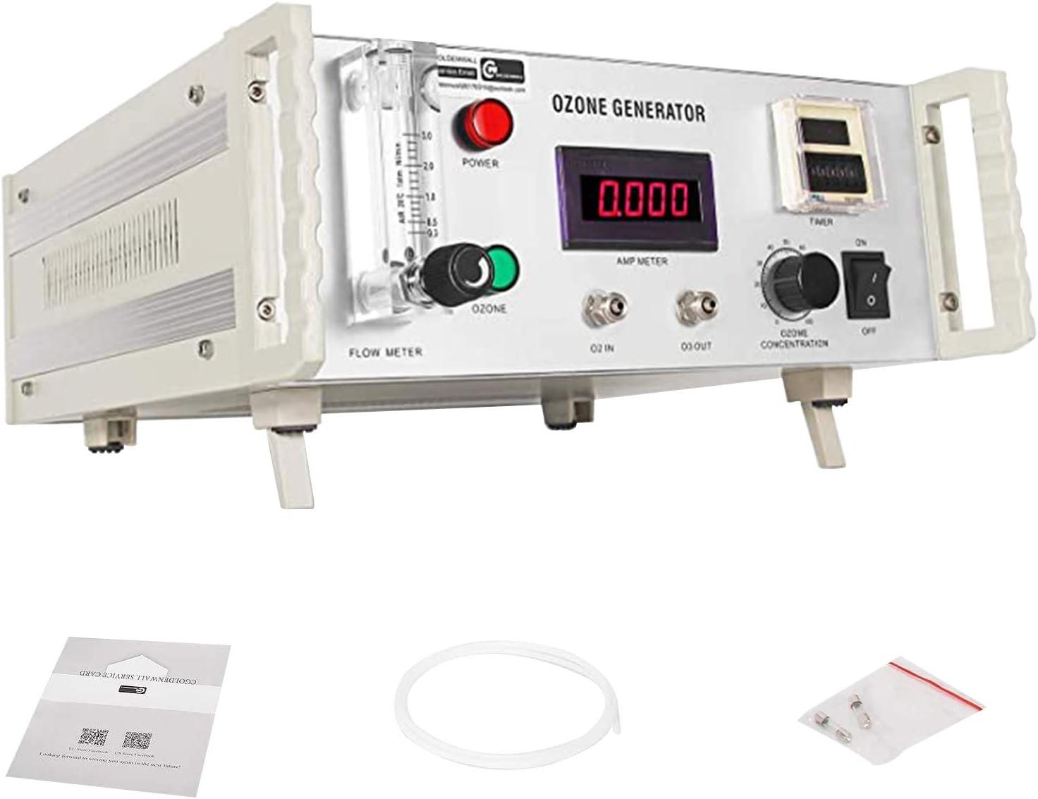 Macchina di sterilizzazione della Frutta della Verdura del purificatore dellAcqua dellAria dello ionizzatore dellozonizzatore 1g Cosiki Generatore dellozono 8L//min