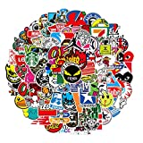 Nertpow Cool Brand Stickers 101 Pack Decals for Laptop Computer Skateboard Water Bottles Car Teens Sticker