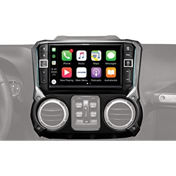 9 Alpine Electronics i209-WRA Mech-Less Restyle Dash System with Apple CarPlay /& Android Auto for Jeep Wranglers 2011-2017