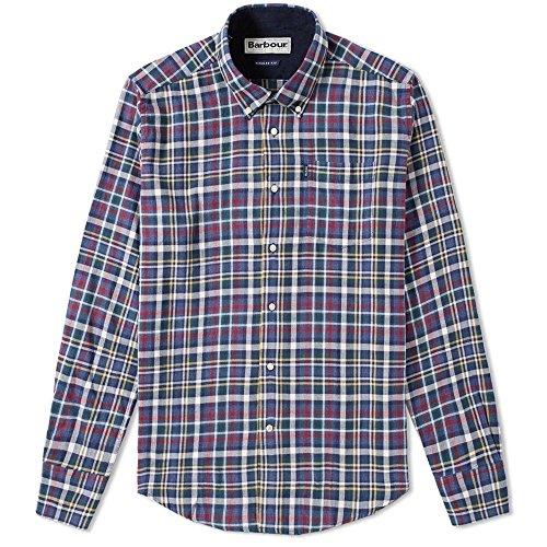Barbour Herren Freizeit-Hemd Blau blau Einheitsgröße, Blau XL