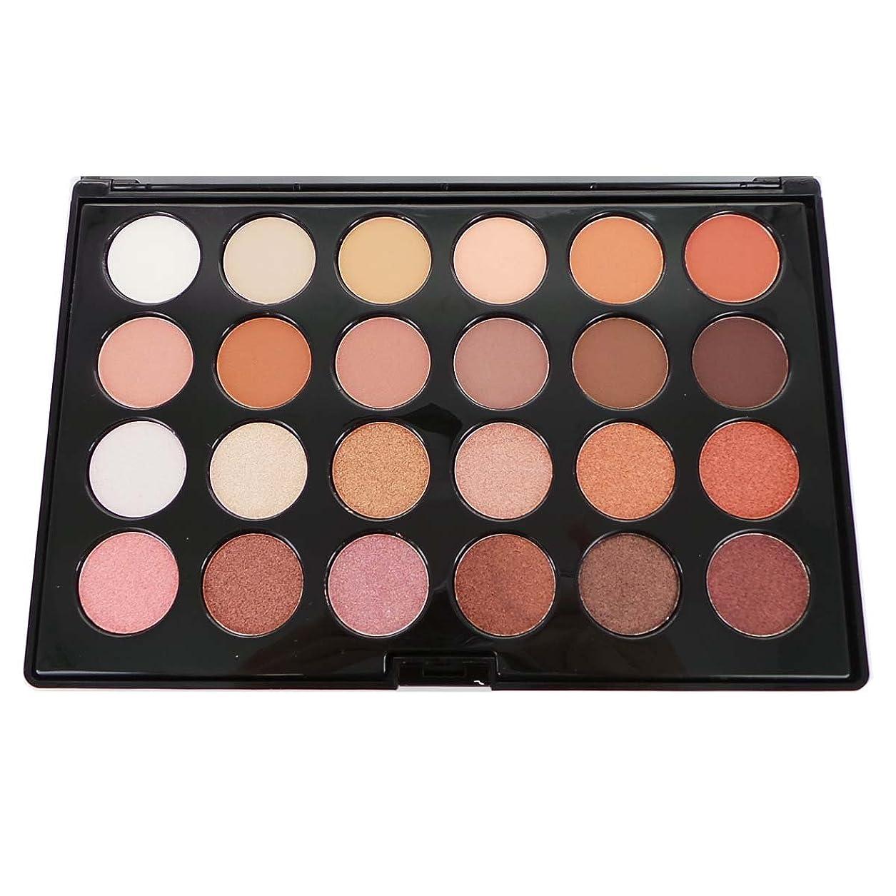 害金属化学(3 Pack) CITY COLOR Matte & Shimmer 24 Shade Shadow Palette - Daily Essentials (並行輸入品)