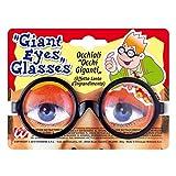 NET TOYS Spaß Brille Riesen Augen Scherzbrille Glubschaugen Scherzartikel Doktor Partybrille Idioten Funbrille Nerd Streber Kostüm Zubehör -