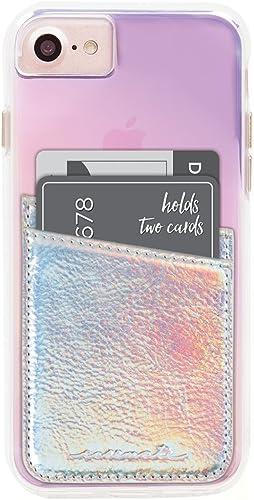 Case-Mate CM035444 - Stick On Credit Card Wallet - POCKETS - Ultra-slim Card Holder - fit - Apple – iPhone – Samsung ...