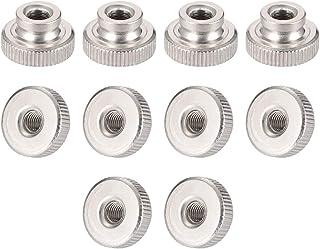 16mm Long Small Parts FSCM8X16SHIZ M8 x 1.25mm Thread Size Iron Wing-Head Thumb Screw