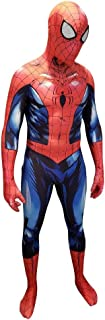 Superhero Halloween Cosplay Costume   Lycra Fabric Zentai Suit Bodysuit w/Mask and Lenses   for Adults and Kids