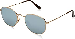 Ray Ban RB3548N Sunglasses Gold Grey Mirror