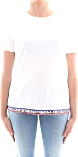Tommy Hilfiger Women's WW0WW24811-White T-Shirts