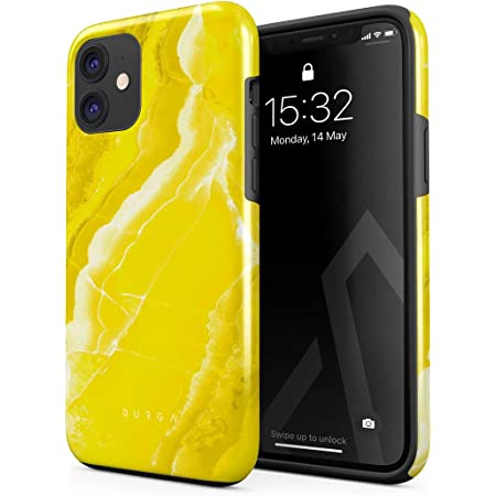 Burga Hülle Kompatibel Mit Iphone 12 Pro Neon Yellow Elektronik