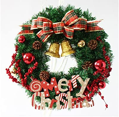 Christmas Ring.Amazon Com Creation Core Flower Ring Christmas Hanging Door
