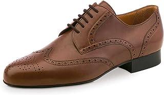 Werner Kern Hombres Zapatos de Baile 28023 - Cuero Marrón - 2 cm Ballroom