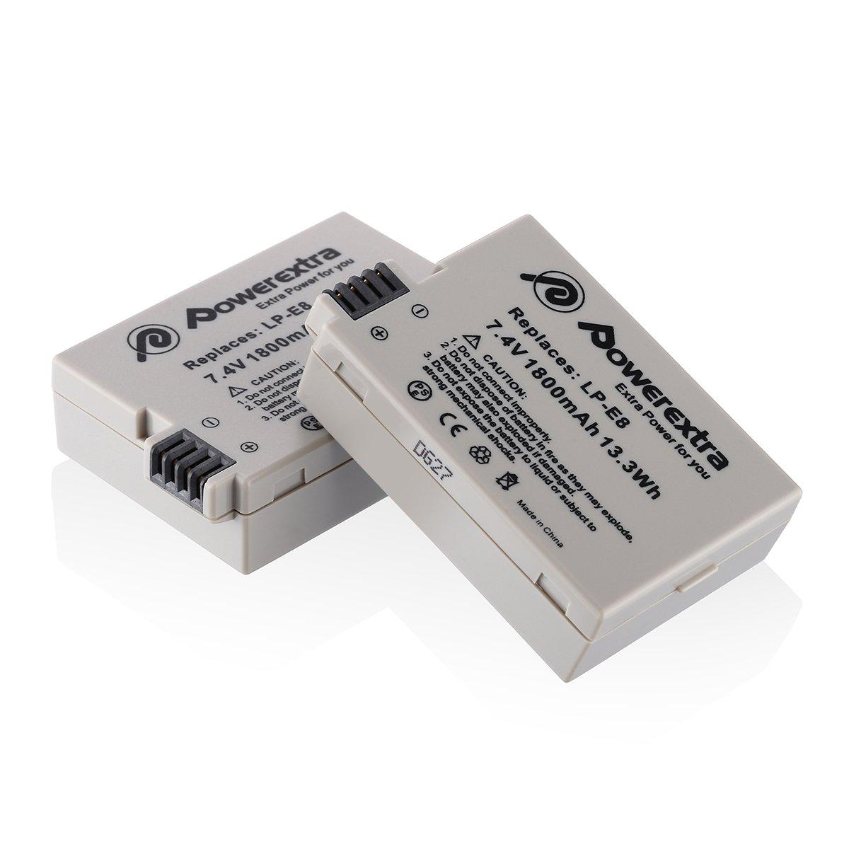 Powerextra 1800mAh Li ion Replacement Battery