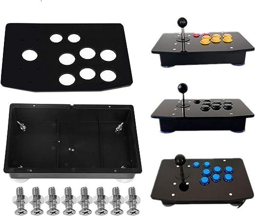 DIY Single Handle Arcade Game Joystick Acrylic Panel And Case Kits  h