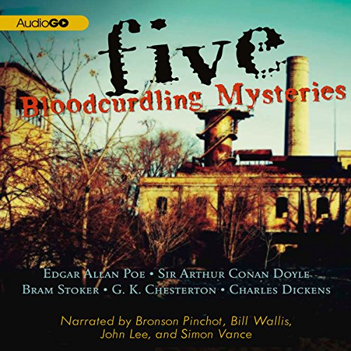 Five Bloodcurdling Mysteries audiobook cover art