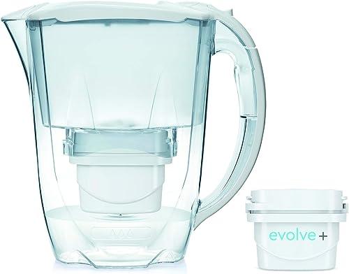Aqua Optima Oria Carafe Filtre à Eau, Blanc, 2.8 litres with 1 up to 30 Day Filter