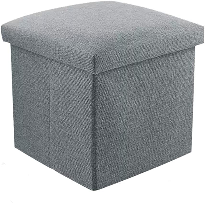 Folding Ottoman Storage Box Max 76% OFF Luxury goods with Lids Small Toy Fo Footstool