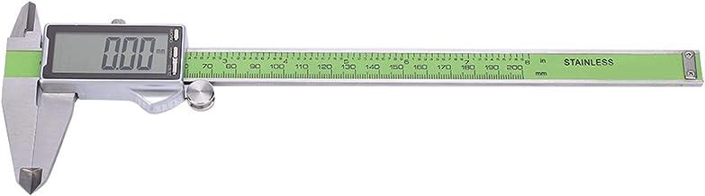 Paquímetro digital digital de aço inoxidável preciso para medição (200 mm)