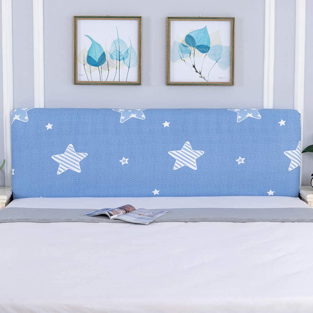 Bed Headboard Cover Max 52% OFF All-inclusive Stretch Max 57% OFF C Backrest Fabric Dust