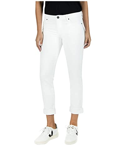 KUT from the Kloth Catherine Boyfriend in Optic White (Optic White) Women
