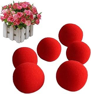 Gogoforward 10 PCS Red Sponge Soft Ball Close-Up Magic Street Classical Comedy Trick Props 4.5cm