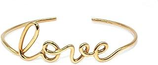 Virano Gioielli, Bracciale love filo rigido oro rosso