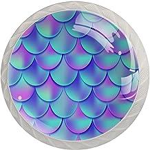 Lade handgrepen trekken ronde kristallen glazen kast knoppen keuken kast handvat,Schaal