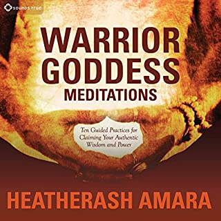 Warrior Goddess Meditations audiobook cover art