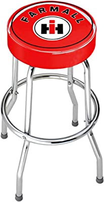 International Harvester Farmall Red Top Stool