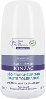 Eau Thermale Jonzac, ORGANIC ROLL ON DEODORANT, No Alcohol and No Aluminium Salts, 50 millilitre