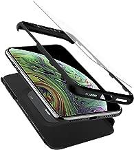 Spigen Thin Fit 360 Designed for Apple iPhone Xs Case (2018) / Designed for Apple iPhone X Case (2017) - Black