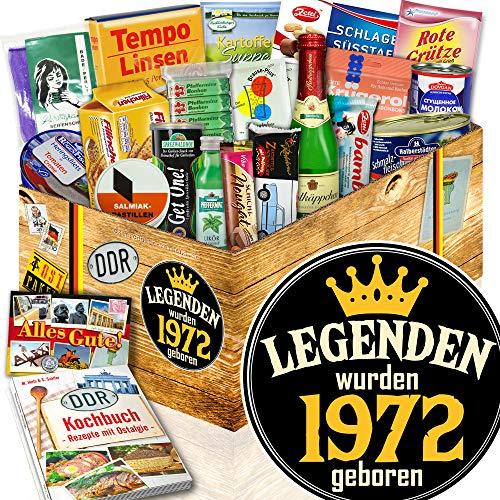 Legenden 1972 / Geschenktipps für Sie / DDR Spezialitäten Box DDR