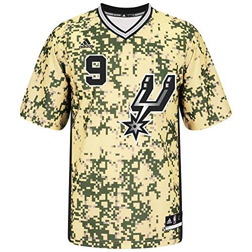 adidas NBA San Antonio Spurs Tony Parker # 9Camiseta de réplica de la Camiseta, Grande, Puddy
