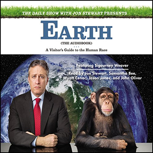 The Daily Show with Jon Stewart Presents Earth (The Audiobook) cover art