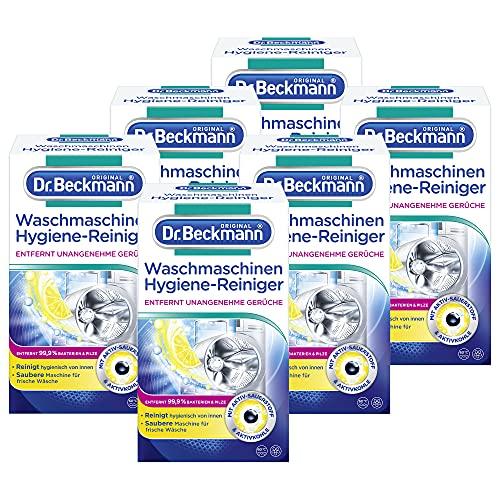 Dr. Beckmann Waschmaschinen Hygiene-Reiniger mit Aktivkohle (6x 250 g)