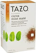 TAZO TEA MATE COCOA MINT, One Box Of 16 Tea Bags