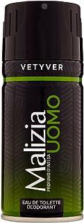 Malizia Uomo Deo Vetyver, 150 ml