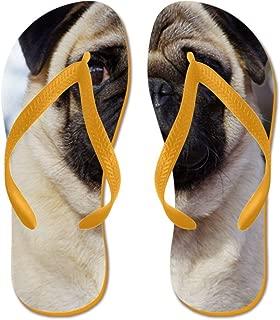 Pug AA014D-018 - Flip Flops, Funny Thong Sandals, Beach Sandals