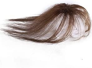شعر مستعار حريمي بشري حقيقي 100% بدون خياطة غير مرئية، شعر مستعار نسائي قصير مزيف، لون بني فاتح
