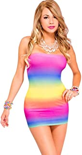 Best rainbow tube dress Reviews