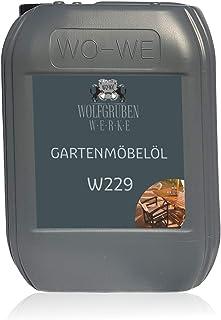 Gartenmöbelöl Möbelöl Terrassenöl Natur Leinöl Holzöl Holzpflege Holzschutz - 5L