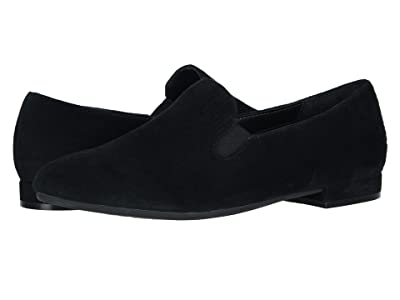 David Tate Lina (Black Suede Mini Pebble) Women