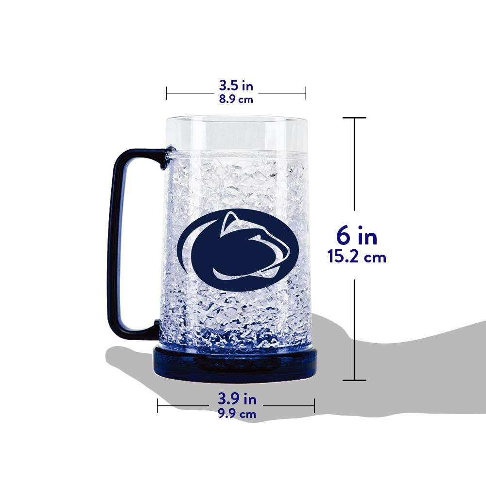 Michigan Wolverines Mug Crystal Freezer Fun Cup 16oz