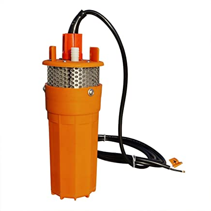 S SMAUTOP Stainless Steel Submersible Pump Ultra-quiet Deep Well Pump for Ponds Fountains Poultry Reservoirs Aquariums Irrigation Submersibles 12V