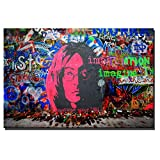 SQSHBBC Gran tamaño Graffiti Wall Art Carteles e Impresiones Street Abstract...